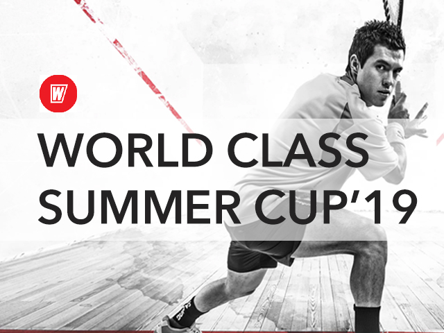 Турнир по сквошу World Class summer cup'19